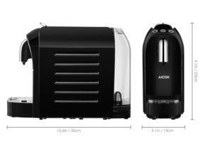 Aicok Machine à Espresso pour Capsule Compatible Nespresso