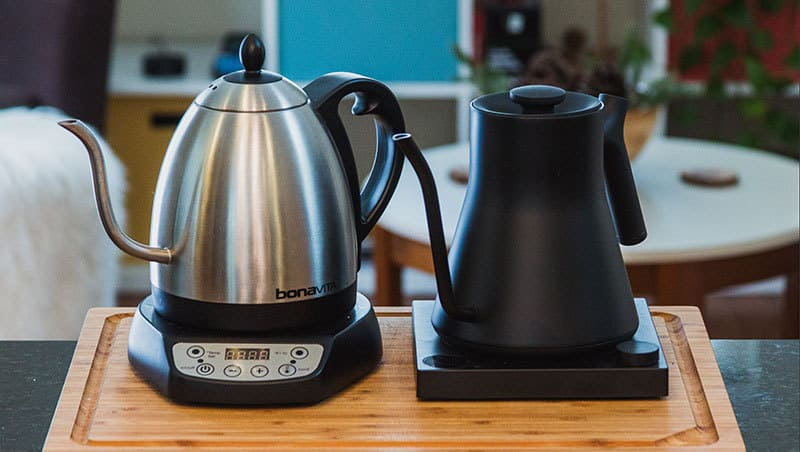 Bouilloires d'eau chaude les 10 meilleures pour infuser du café