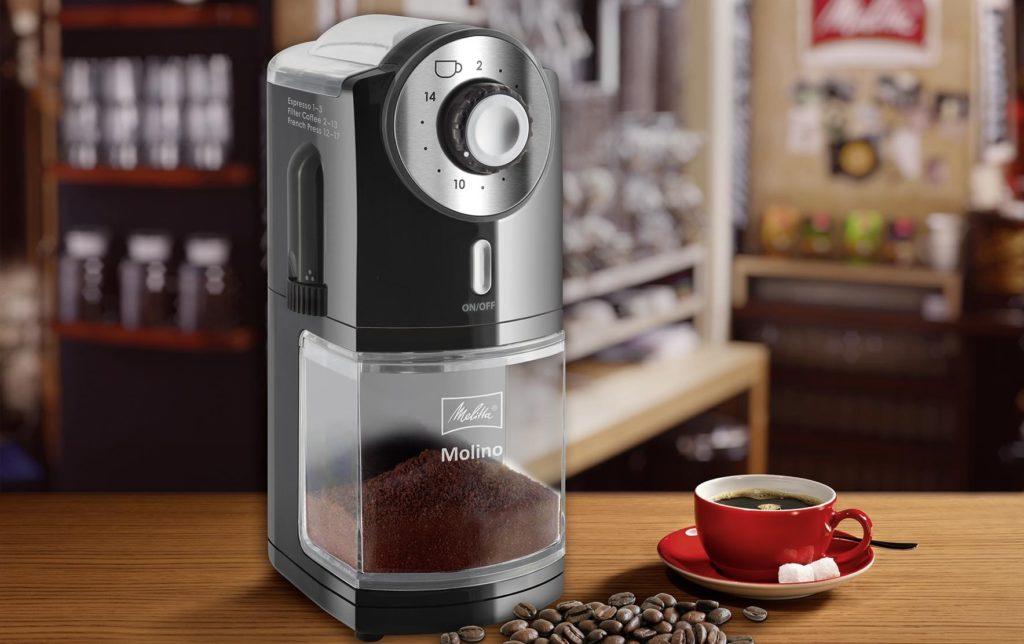 Moulin à café électrique Melitta Molino