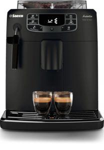 Saeco HD8900 01 Machine à expresso automatique Intelia Evo Deluxe Black Classic à pannarello