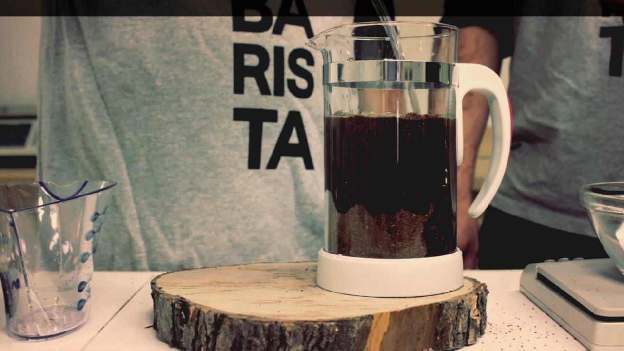 café infusé à froid
