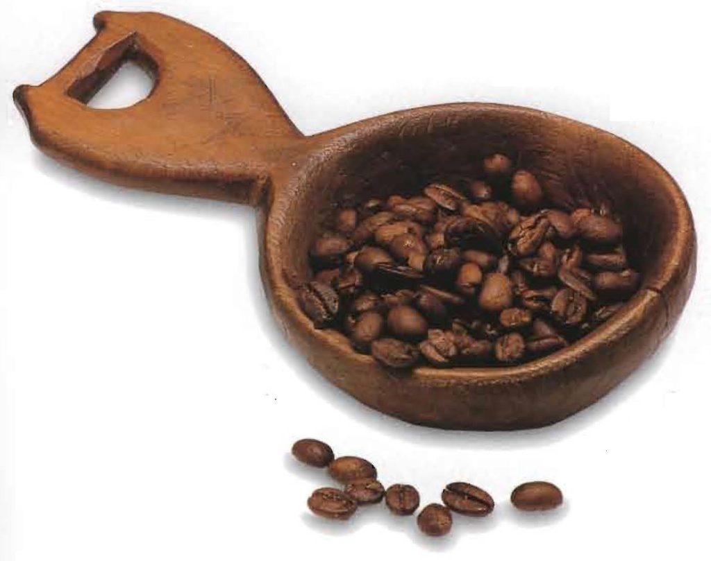 La base d'un bon café: des fèves entières torréfiées.
