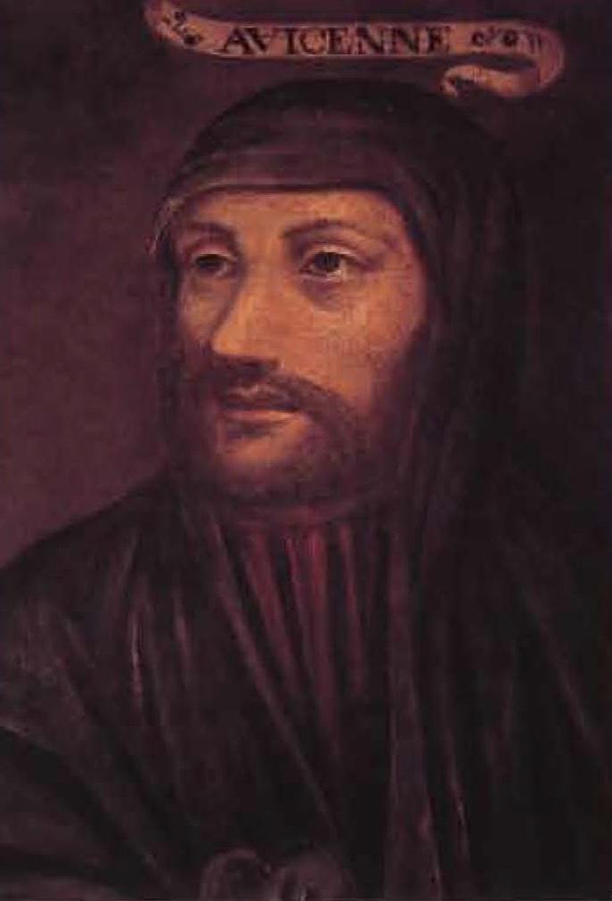 Portrait d'Avicenne, médecin musulman, peint vers le XVIIe siècle.