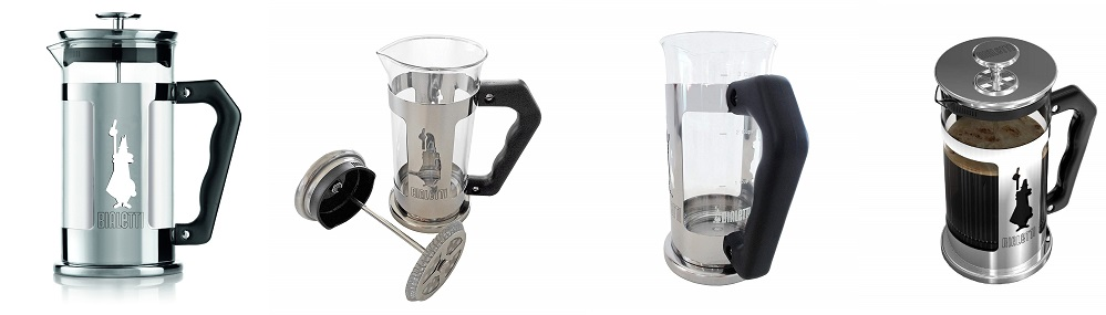 Bialetti 3130 - French Press Preziosa - Cafetière Italienne à Piston