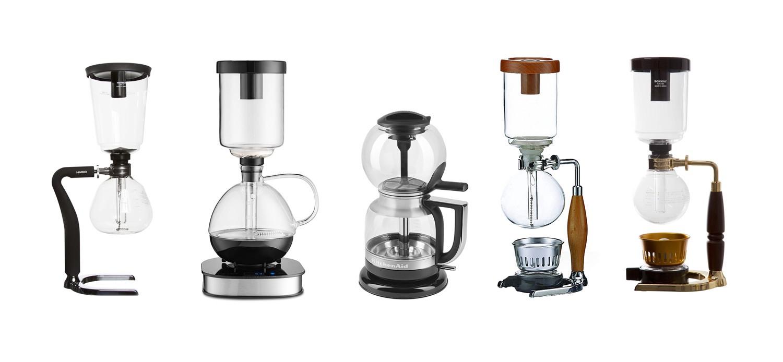 Cafetières à siphon : quelles sont les meilleures machines à café sous vide ?