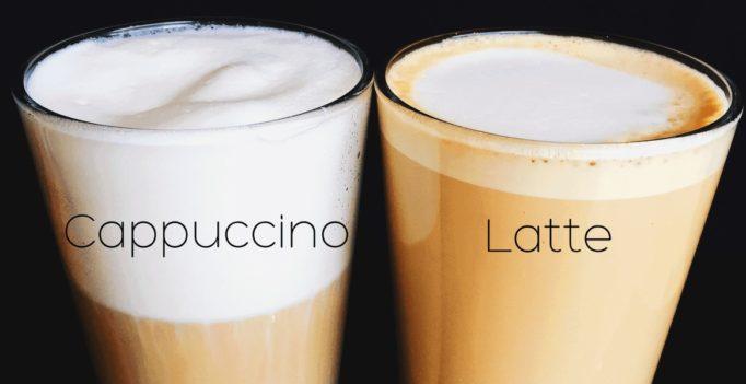 Cappuccino vs Latte : élisez votre candidat à base d'Expresso