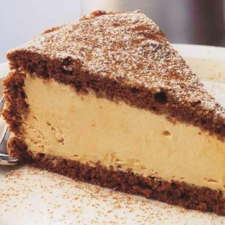 FONDANT AU CHOCOLAT ET À LA MOUSSE DE CAFÉ