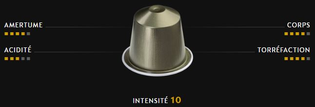 CAPSULES NESPRESSO PURE ORIGINE - INDRIYA FROM INDIA