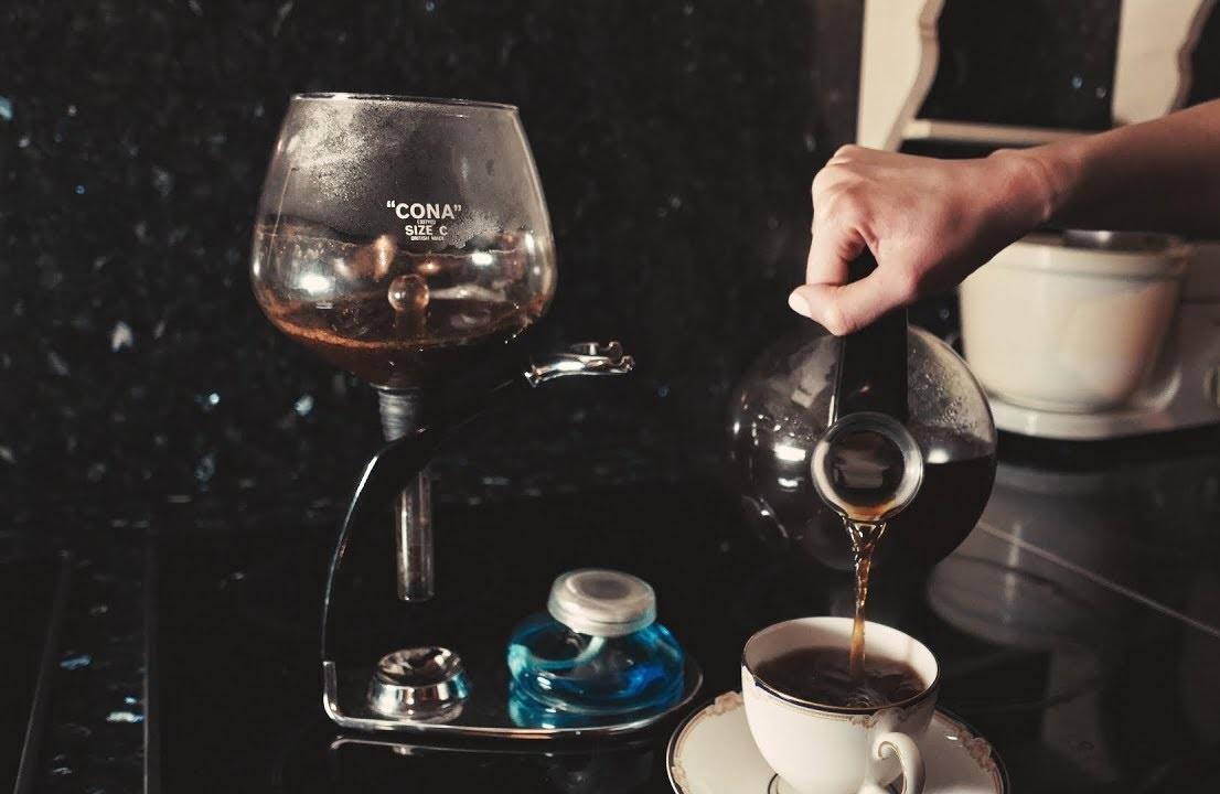 Qu'est-ce qu'une cafetière à dépression Cona ?
